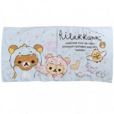 日本正版鬆弛熊浴巾