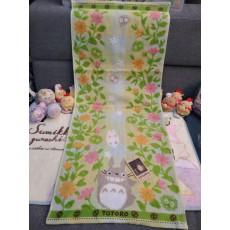 日本正版龍貓長毛巾 (花草款)