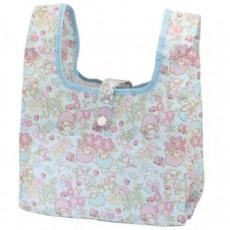 全新現貨日本正版TWINS STAR環保袋 (藍色)