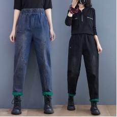 (F10470) 牛仔褲 (大碼款)