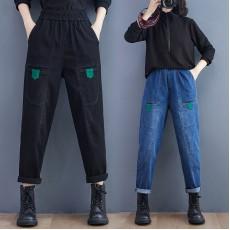 (F10471) 牛仔褲 (大碼款)