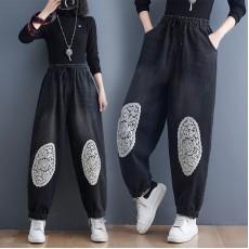 (F10489) 牛仔褲 (大碼款)