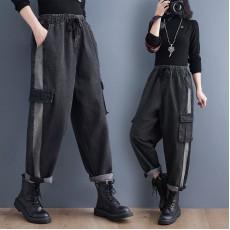 (F10490) 牛仔褲 (大碼款)