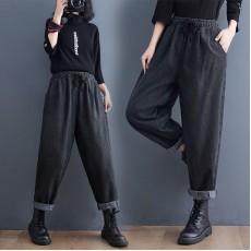 (F10494) 牛仔褲 (大碼款)