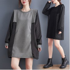 (F10500) 連身裙 (大碼款)