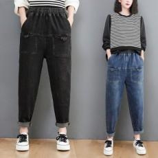 (BE5119) 橡根腰牛仔褲