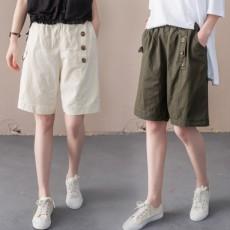 (BE5122) 橡根腰百搭顯瘦短褲