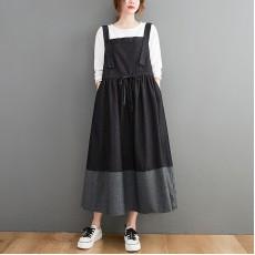 (F10456) 牛仔連身裙 (大碼款)