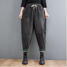 (F10457) 牛仔褲 (大碼款)