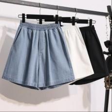 (BE5002) 高腰顯瘦闊腿短褲