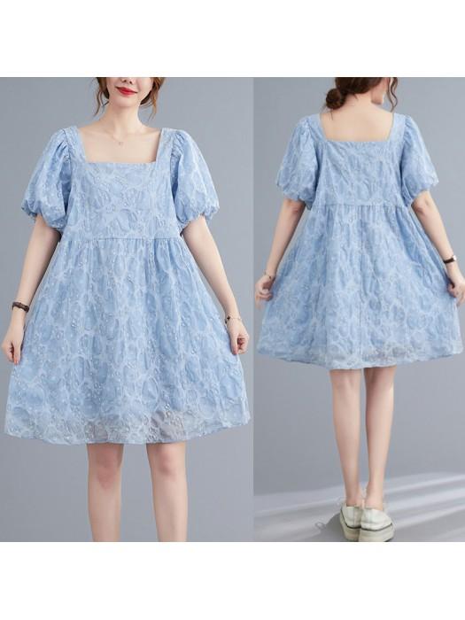 (F10428) 連身裙 (大碼款)
