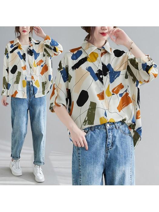 (F10430) 恤衫 (大碼款)