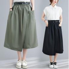 (F10438) 半身裙   (大碼款)
