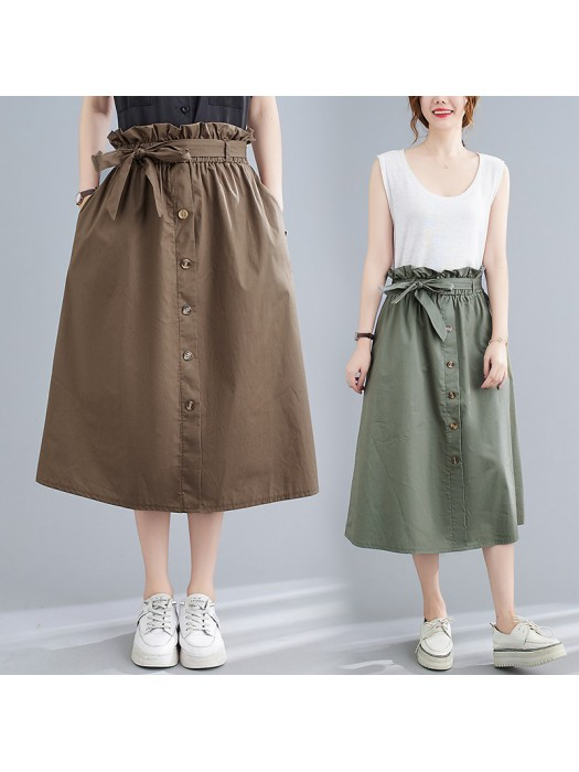 (F10439) 半身裙 (大碼款)