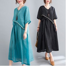 (F10447) 連身裙   (大碼款)