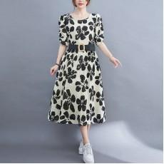(F10448) 連身裙 (大碼款)