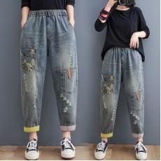 (F10449) 牛仔褲 (大碼款)