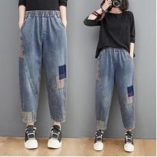 (F10451) 牛仔褲 (大碼款)