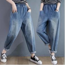(F10452) 牛仔褲 (大碼款)