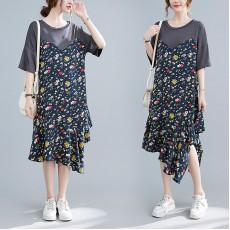 (F10393) 連身裙 (大碼款)