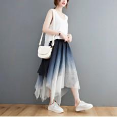(F10400) 半身裙 (大碼款)
