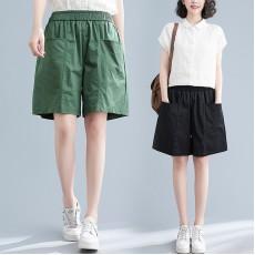 (F10353) 短褲 (大碼款)