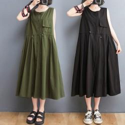 (F10370) 連身裙 (大碼款)