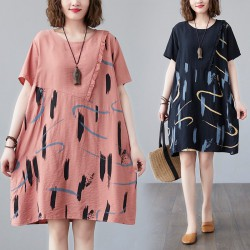 (F10187) 連身裙 (大碼款)