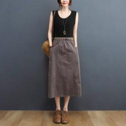 (F10192)  半身裙 (大碼款)