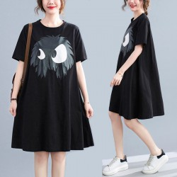 (F10196) 連身裙 (大碼款)