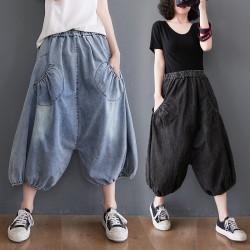 (F10056) 牛仔褲   (大碼款)