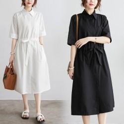 (F10039) 連身裙 (大碼款)