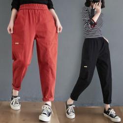 (F9810) 長褲 (大碼款)