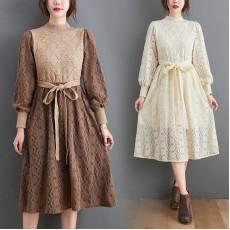 (F9791) 連身裙 (大碼款)