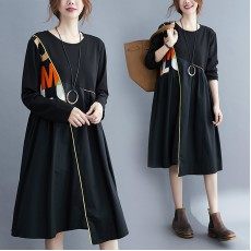 (F9794) 連身裙 (大碼款)