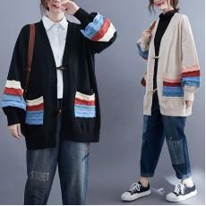 (F9501) 針織外套 (大碼款)