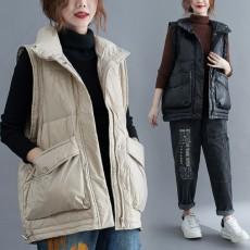 (F01059) 夾綿外套 (大碼款)