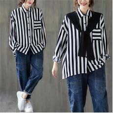 (F9362) 假兩件恤衫 (大碼款)