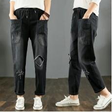 (F9325) 牛仔褲 (大碼款)