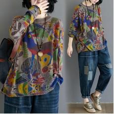 (F9329) 針織上衣 (大碼款)