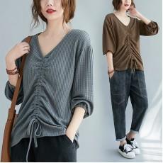 (F9336) 針織上衣 (大碼款)