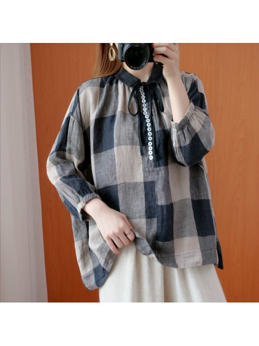 (F9344) 上衣 (大碼款)