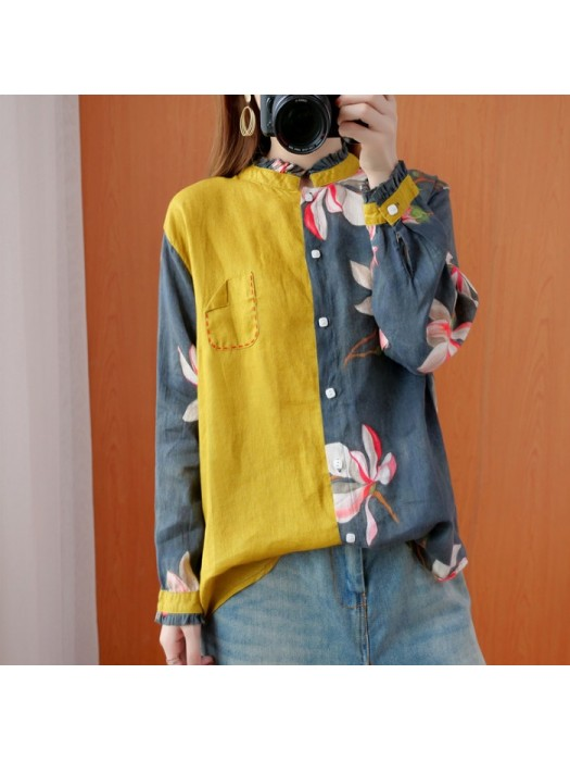 (F9345) 恤衫 (大碼款)