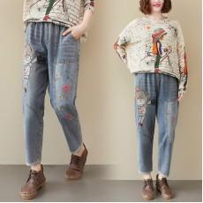 (F9297) 牛仔褲 (大碼款)