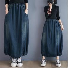 (F9312) 牛仔半身裙 (大碼款)