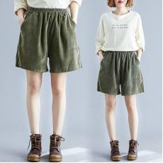 (F9251) 短褲 (大碼款)