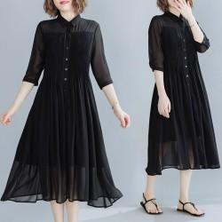 (F9176) 連身裙 (大碼款)