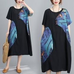 (F9178) 連身裙 (大碼款)