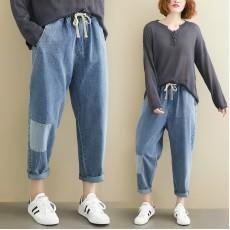 (F9198) 牛仔褲 (大碼款)