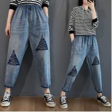 (F9213) 牛仔褲 (大碼款)